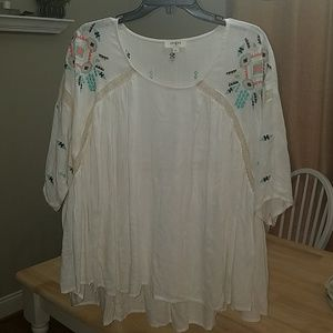 Umgee women's large flowy top